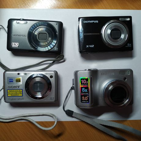 Цифровые фотоаппараты Sony, Olympus, Samsung