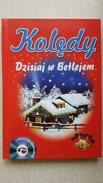Kolędy Dzisiaj w Betlejem - Piękna książka z kolędami plus płyta CD