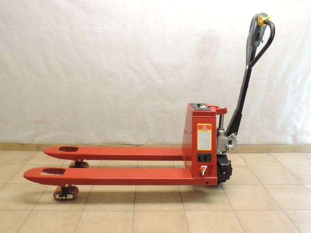 Paleciak elektryczny PPT18 wózek paletowy nowynt 7 udźwig 1800kg