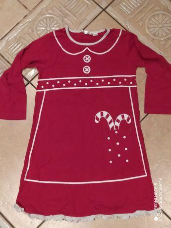 Sukienka Mikołaj 2-3 latka