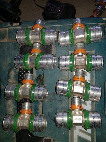 Trójniki redukcyjne S-press Uponor 32 20 32