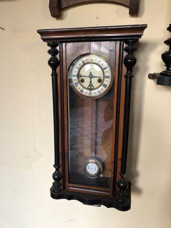 Zegar wiszący Gustav Becker antyk