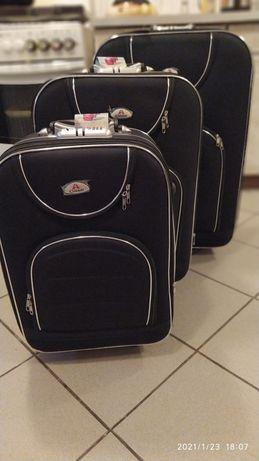 Walizki 3 sztuki w jednej cenie walizka