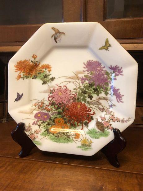 Pratos decorativos - Porcelana Japonesa