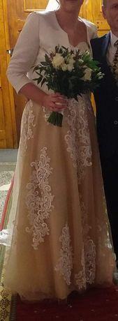 Suknia ślubna dla wysokiej dziewczyny 186 cm