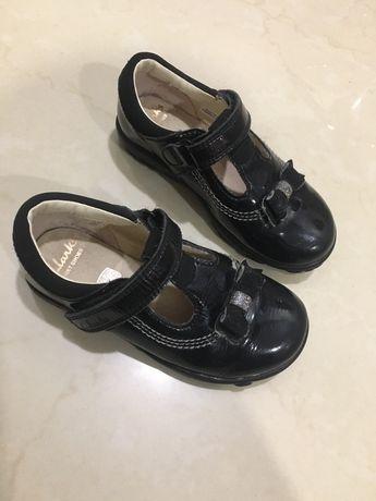 Туфли туфельки Clarks Ecco Grox 24 р. с мигалками