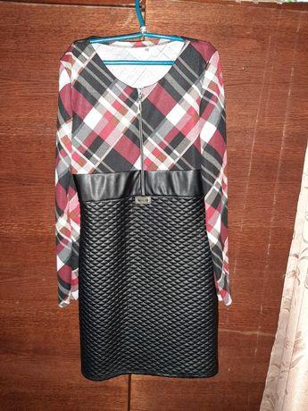 Продам платье из эко-кожи