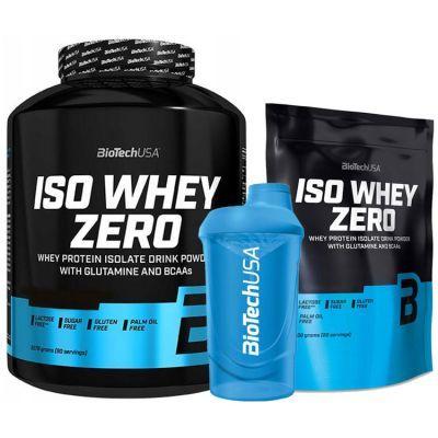 BIOTECH ISO WHEY ZERO 2270g + 500g + Shaker