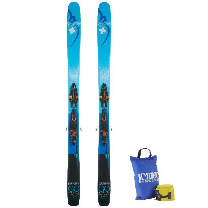 Zestaw narciarski freeride skituring Movement GO 100 TI + KINGPIN DEMO Radom - image 1