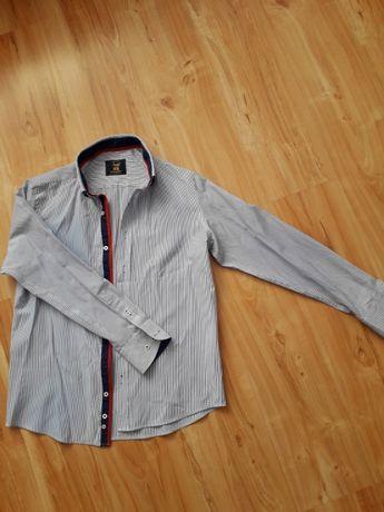 Koszula męska w paski M
