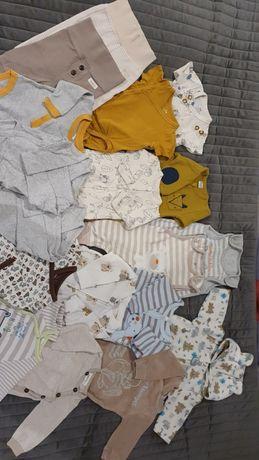 Komplet ubranek dla niemowlaka r. 56- jak nowe, polecam!!!