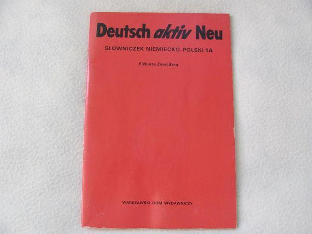 Deutsch aktiv Neu - słownik słowniczek niemiecko - polski 1A