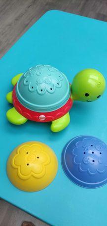 Zabawki kąpielowe żółwik