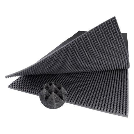 Akustyczne Panele Maty Gąbki Pianka 100x200x3 cm