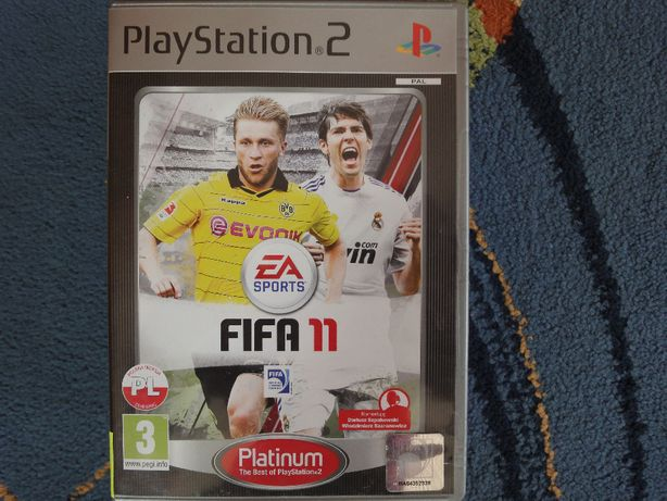 FIFA 11 - gra po polsku na PS2