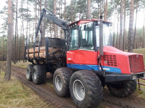 Forwarder Valmet 840