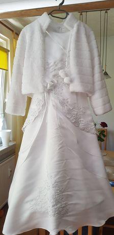 Sukienka biała ( Komunijna)
