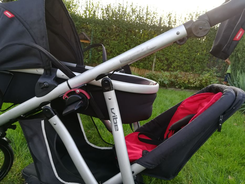 Wózek Phil teds vibe 3 rok po roku biegowy, peanut gondola dla dwójki Chorzów - image 1