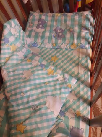 Постельное для новорожденного и до 2 лет новое на подарок или крестины