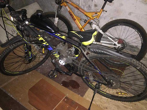 Продам велосипед с мотором F80