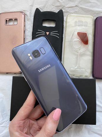 Samsung Galaxy S8 jak nowy 128gb Orchid Grey