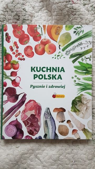 Książka kuchnia polska, biedronka