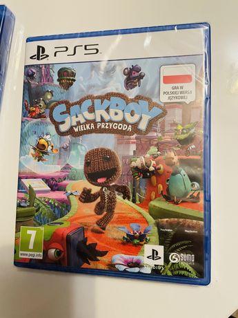 Sackboy wielka przygoda PS5/PS4 FOLIA