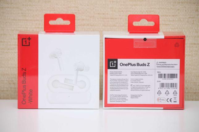 Беспроводные TWS наушники OnePlus Buds Z Global White Глобал (Airpods)