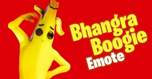Emotka Limitowana Bhangra Boogie Fortnite OnePlus Dance/Emote OKAZJA!