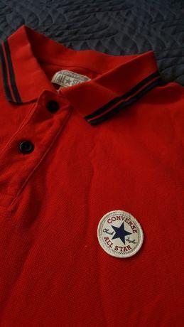 Converse all star tshirt koszulka polo M
