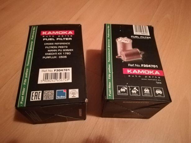 2x Filtr paliwa KAMOKA F304701