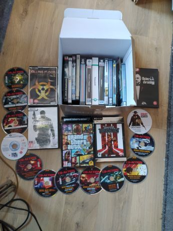 Zestaw 60+ gier PC m.in. GTA V, COD, Unreal Tournament, Killing Floor