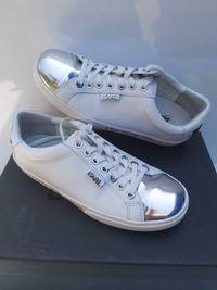 Sneakersy KARL LAGERFELD Białe icon trampki tenisówki 37
