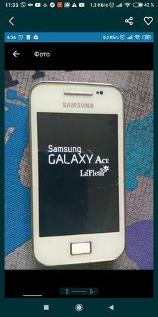 Samsung s5830i белый la Fleur