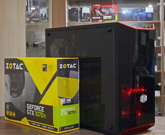 Компьютер (i5-9400F 4.1ГГц/RAM 16Гб/SSD 480Гб/GTX 1070TI 8Гб)TVOYO