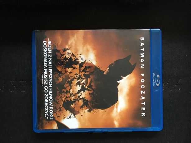 Batmam Początek - Blu-ray