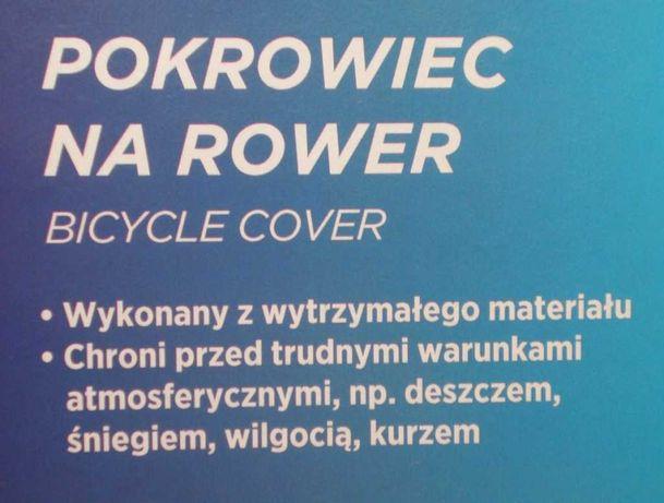 Pokrowiec na rower, zabezpieczenie przed opadami atmosferycznymi