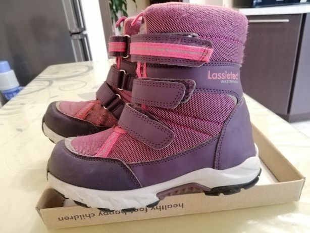 Зимние термо ботинки Lassie 31 размер для девочки