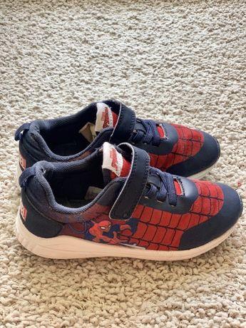 Кеды кроссовки spider man фирма H&M