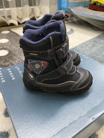 Geox чоботи, чобітки, обувь для мальчика, взуття зимове