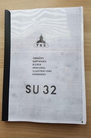 Tokarka TOS SU-32 DTR Instrukcja Polska