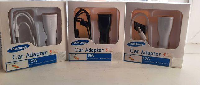 Авто.ЗАРЯДКА.FAST  charge Оригинал. Samsung.Type-c.Micro USB.Зарядное.