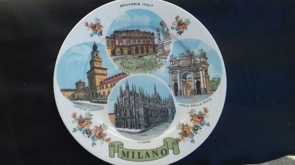 Prato decorativo de Itália Alpendorada, Várzea E Torrão - imagem 1