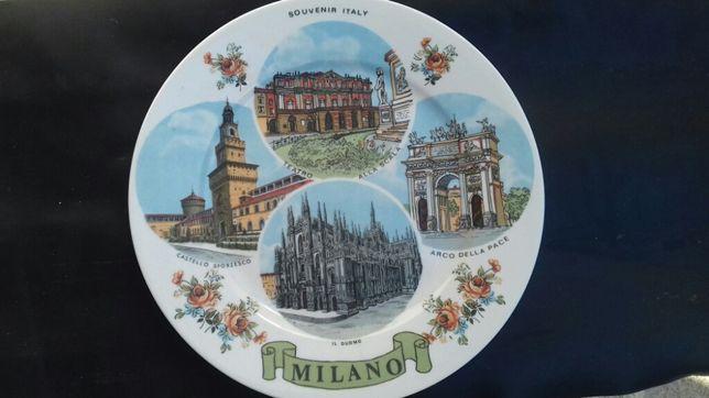 Prato decorativo de Itália