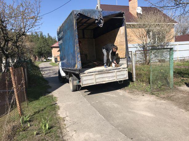 Вывоз строй мусора, мебели, хлама в Киево-Святошинском районе