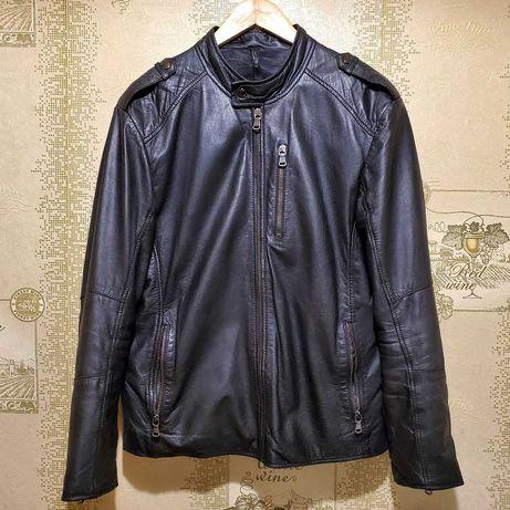 CONBIPEL кожаная куртка Пилот шкіряна пілот Schott nyc Alpha Оригинал
