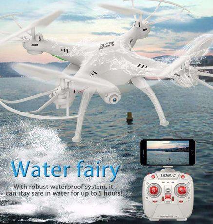 """Drone """"Quadcopter"""" com câmara WIFI e 100% à prova de água c/ extras"""