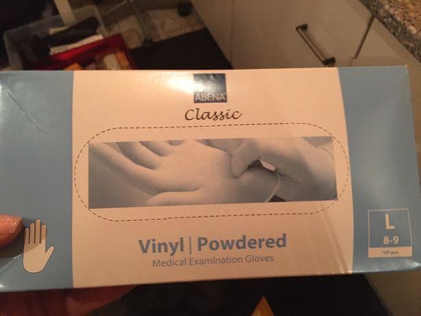 Rękawiczki vinylowe jednorazowe