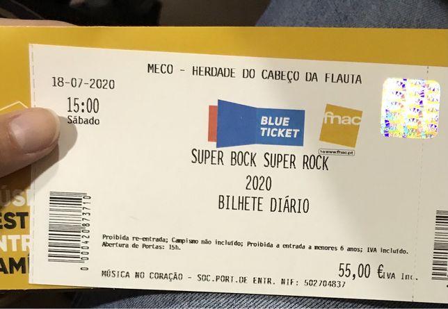 Bilhete Super Bock Super Rock 2022