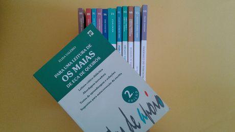 """Livros da Editora Presença """"Para uma leitura de.."""" e outros"""